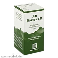 JSO BICOMPLEX HEILM NR 21, 150 Stück, Iso-Arzneimittel GmbH & Co. KG