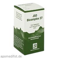 JSO BICOMPLEX HEILM NR 27, 150 ST, Iso-Arzneimittel GmbH & Co. KG