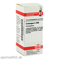 CRATAEGUS C200, 10 G, Dhu-Arzneimittel GmbH & Co. KG