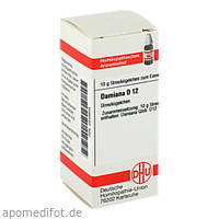 DAMIANA D12, 10 G, Dhu-Arzneimittel GmbH & Co. KG