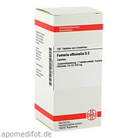 FUMARIA OFFICINALIS D 2, 200 ST, Dhu-Arzneimittel GmbH & Co. KG