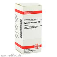 FUMARIA OFFICINALIS D 2, 80 ST, Dhu-Arzneimittel GmbH & Co. KG