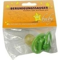 SAUGER Beruhigung Gruen Gr Scheibe Gr Kirsch, 1 ST, Dr. Junghans Medical GmbH
