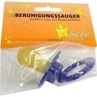 SAUGER Beruhigung Dunkelblau Gr Scheibe Gr Kirsch, 1 ST, Dr. Junghans Medical GmbH