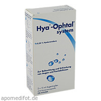 Hya-Ophtal system, 2X15 ML, Dr. Winzer Pharma GmbH
