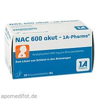 NAC 600 akut-1A-PHARMA, 20 ST, 1 A Pharma GmbH