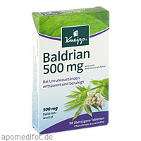 KNEIPP Baldrian 500, 90 ST, Kneipp GmbH