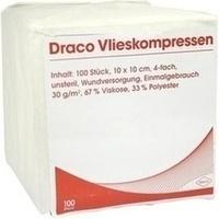 Vliesstoffkompressen 10x10cm 4fach unsteril, 100 ST, Dr. Ausbüttel & Co. GmbH