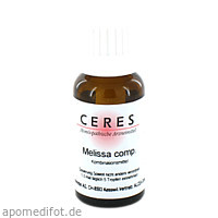 CERES Melissa comp., 20 ML, Ceres Heilmittel GmbH
