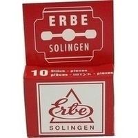 ERBE-Hobelklingen 2010, 1X10 ST, Becker-Manicure
