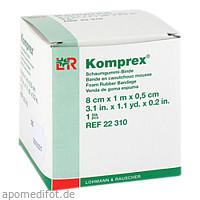 KOMPREX SCHAUMG 1mx8cm Stärke 0.5, 1 ST, Lohmann & Rauscher GmbH & Co. KG