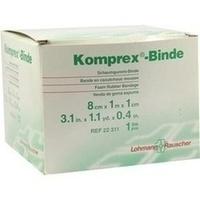 KOMPREX SCHAUMG 1mx8cm Stärke 1, 1 ST, Lohmann & Rauscher GmbH & Co. KG