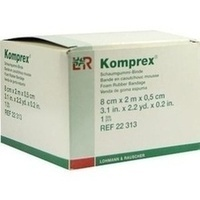 KOMPREX SCHAUMG 2mx8cm Stärke 0.5, 1 ST, Lohmann & Rauscher GmbH & Co. KG