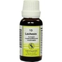 LACHESIS KOMPL NESTM 13, 20 ML, Nestmann Pharma GmbH