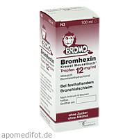 Bromhexin K.Meuselb.Trf.12mg/ml, 100 ML, Hermes Arzneimittel GmbH