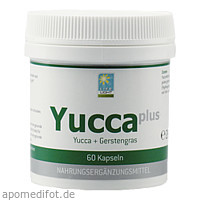 YUCCA PLUS 60 Kapseln, 60 ST, Apozen Vertriebs GmbH