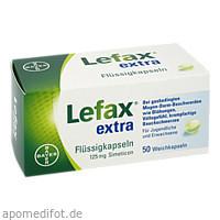 Lefax extra Flüssig Kapseln, 50 ST, Bayer Vital GmbH