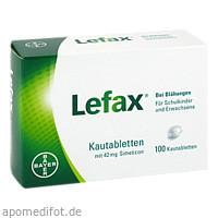 LEFAX, 100 ST, Bayer Vital GmbH