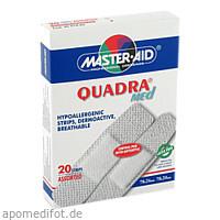 QUADRA MED Pflaster 2 Formate Master Aid, 20 ST, Trusetal Verbandstoffwerk GmbH
