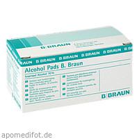 Alcohol Pads B.Braun, 100 ST, B. Braun Melsungen AG