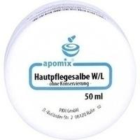HAUTPFLEGESALBE W/L o.Konservierung, 50 G, apomix PKH Pharmazeutisches Labor GmbH