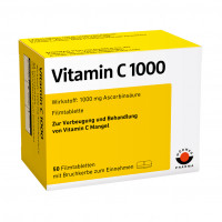 VITAMIN C 1000, 50 ST, Wörwag Pharma GmbH & Co. KG