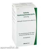 Solutio Hydroxychinolini 0.4%, 200 ML, Leyh-Pharma GmbH