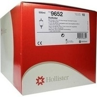 HOLLISTER Urin Beinbeutel mit Ablauf unster 500ml, 10 ST, Hollister Incorporated