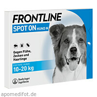 FRONTLINE Spot on H 20 Lösung f.Hunde, 3 ST, Boehringer Ingelheim Vetmedica GmbH