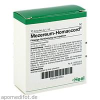 MEZEREUM HOMACCORD, 10 ST, Biologische Heilmittel Heel GmbH
