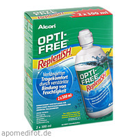 Optifree Replenish, 2X300 ML, Alcon Deutschland GmbH
