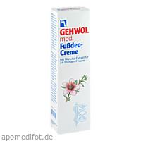GEHWOL med Fußdeo-Creme, 125 ML, Eduard Gerlach GmbH