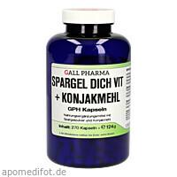Spargel Dich Vit + Konjakmehl GPH Kapseln, 270 ST, Hecht-Pharma GmbH