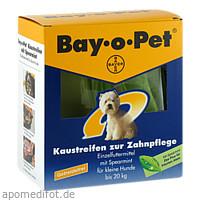 Bay-o-Pet Zahnpflege Kaustreif Spearmint klei Hund, 140 G, Elanco Deutschland GmbH