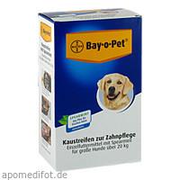 Bay-o-Pet Zahnpflege Kaustreif Spearmint gro Hunde, 140 G, Elanco Deutschland GmbH