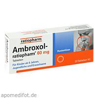 Ambroxol-ratiopharm 60mg Hustenlöser, 20 ST, ratiopharm GmbH