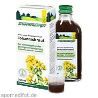 JOHANNISKRAUTSAFT SCHOENENBERGER, 200 ML, Salus Pharma GmbH