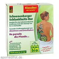 Schlankheitskur Klassiker Schoenenberger, 1 P, Salus Pharma GmbH