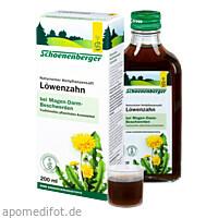 LOWENZAHNSAFT SCHOENENBERGER, 200 ML, Salus Pharma GmbH