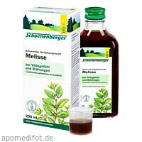 MELISSENSAFT SCHOENENBERGER, 200 ML, Salus Pharma GmbH