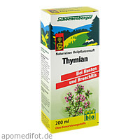 THYMIANSAFT SCHOENENBERGER, 200 ML, Salus Pharma GmbH