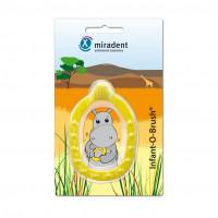 Miradent Infant-O-Brush Lernzahnbürste gelb, 1 ST, Hager Pharma GmbH