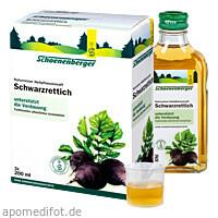 SCHWARZRETTICH SCHOENENBERGER HEILPFLANZENSÄFTE, 3X200 ML, Salus Pharma GmbH