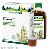 ZINNKRAUT SCHOENENBERGER HEILPFLANZENSÄFTE, 3X200 ML, Salus Pharma GmbH