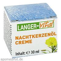 Nachtkerzenöl Creme, 30 ML, Langer Vital GmbH