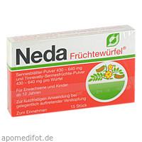 NEDA FRUECHTEWUERFEL, 15 ST, Med Pharma Service GmbH