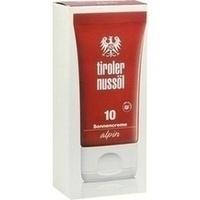 Tiroler Nussöl alpin Sonnencreme LSF 10, 40 ML, Dermapharm AG