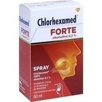 Chlorhexamed FORTE alkoholfrei 0.2% Spray, 50 ML, GlaxoSmithKline Consumer Healthcare