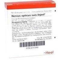 NERVUS OPT SUIS INJ ORG, 10 ST, Biologische Heilmittel Heel GmbH