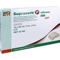 Suprasorb P silicone Schaumverb. 15x20cm border, 5 ST, Lohmann & Rauscher GmbH & Co. KG